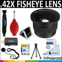 Polaroid Studio Series .42X HD Super Fisheye Lens   Cleaning