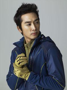 song seung heon -- Ad Shoot for Kolping