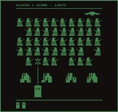 20 Dr Who Parodies. The Space Invaders one cracks me up. :D