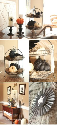 Halloween Decorating | Design | Home Decor | Patty K Photography & Design