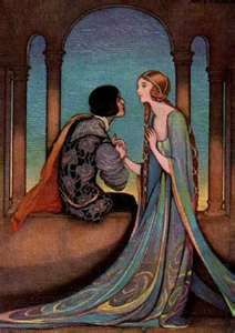 Romeo and Juliet by William Shakespeare. Illustrated by Jennie Harbour. Fairytale Fantasies, Fairytale Art, Art And Illustration, Fantasy Kunst, Fantasy Art, Dark Fantasy, Art Amour, Romeo Und Julia, Harry Clarke
