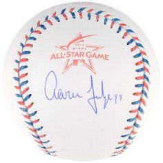 Aaron Judge New York Yankees Fanatics Authentic Autographed 2017 All Star Game Logo Baseball