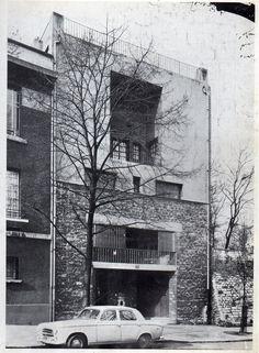 Tristan tzarahp Tristan Tzara, France, Paris, Marcel, Peugeot, House, Modern Architecture, Architects, Buildings