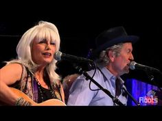"▶ Emmylou Harris & Rodney Crowell ""Wheels"" - YouTube"