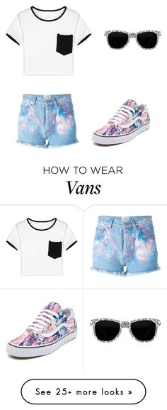 """""""Untitled #936"""" by bellev17 on Polyvore featuring Forte Couture, WithChic and Vans"""