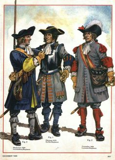 Soldiers of Louis XIV.
