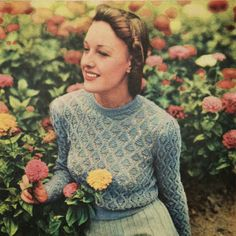 Renée And The Cat's Meow: Knitting inspiration: Australian Women's Weekly - Free Vintage patterns