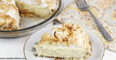 Low Carb and Gluten Free Coconut Cream Pie is a wonderful pie to enjoy without spiking your blood sugar. It is sugar-free and Trim Healthy Mama