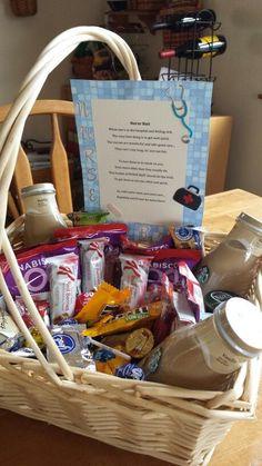8119596f262 Nurses basket Labor Nurse Gift, Delivery Nurse Gifts, Nurse Gift Baskets,  Goodie Basket
