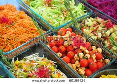 Different Sort Of Fruit Canape For A Self Service Buffet Stock Photo 63951844 : Shutterstock