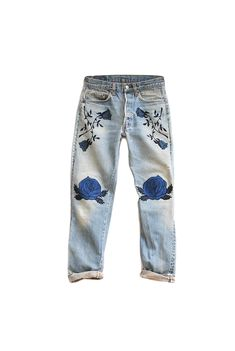 Buy the Best: Embellished Jeans - Gallery - Style.com (Diy Ropa Jeans)
