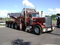 CL Chase 24 Hour Repair & Towing, Tomah WI - Peterbilt 359 w/ 100 ton custom built unit
