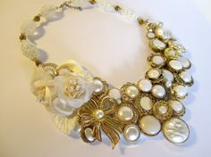 Necklace Wedding or Special Occassion by handartdesignstudios