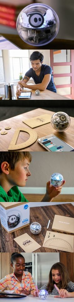 """The play-way method is tried and tested and always manages to drive home the point. Using this as the base and weaving in """"fun"""" to programing and coding, the #Sphero SPRK Edition hopes to inspire youngsters to play with their special robot and custom #control it too!"""