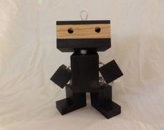 Wooden Ninja Robot