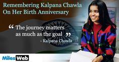 Remembering Kalpana Chawla On Her Birth Anniversary!