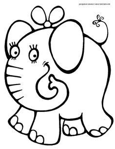 Детские картинки раскраски животных 2 3 лет