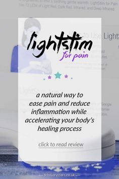 The LightStim for Pain offers natural pain relief and helps to support the natural healing processes in the body. Pin for later or click to read.