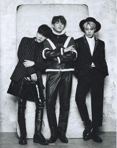 yoongi, jungkook, jimin