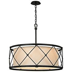 Troy Lighting Palisade Aged Pewter Rustic Pendant Light at Lowe's. Troy approaches two centuries of design with a sense of curiosity, creating an eclectic line of artisan-made lighting fixtures, at once sophisticated and Rustic Pendant Lighting, Rustic Chandelier, Chandelier Shades, Chandelier Lighting, House Lighting, Kitchen Lighting, Chandeliers, Office Lighting, Bedroom Lighting