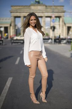 Pin for Later: Mandy Capristo ist quasi vor unseren Augen herangewachsen Juli 2013 bei der Berlin Fashion Week