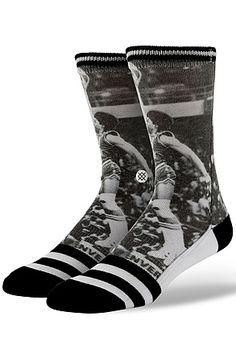 Stance Socks The NBA Legends Julius Erving Socks in Black White : Karmaloop.com - Global Concrete Culture