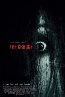 The Grudge (2004), Columbia Pictures, Ghost House Pictures, and Fellah Pictures with Sara Michelle Gellar, Bill Pullman, Jason Behr, Clea DuVall, and Grace Zabriskie.