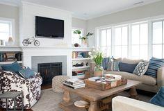 Prefabricated Beach House with Small Coastal Interiors