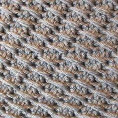 Cross-Over Long Double Crochet (DC)