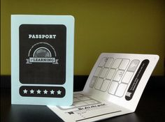 Passport Reward System - what a creative and wonderful idea!