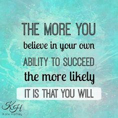 The more you believe in your ability to succeed, the more likely it is that you will! ✨💪❤️ #unstopppable #girlpower #womenempowerment #selfconfidence #fitforlife #anxiety #lovinglife #fitforlife #warrior #singleparent #gratitude #love #infographic #unconditionallove #progressnotperfection #healthymind #lifebalance #allaboutbalancebaby