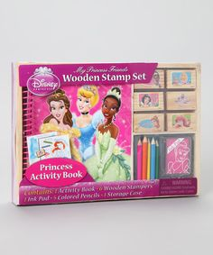 Take a look at this Disney Princess Wooden Stamp Set by Disney on #zulily today!
