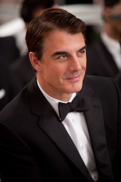 Chris Noth aka Mr. Big... he put Carrie through hell but came thru in the end...   smart, sexy... the Chrysler Building of men.