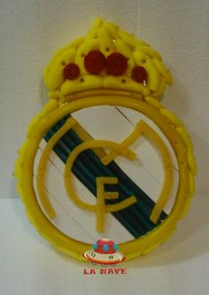 Escudo golosinas Real Madrid.