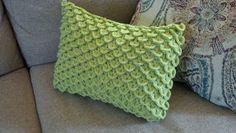 Crochet Crocodile Stitch Pillow Pattern