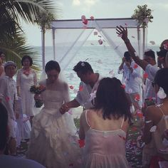 Congratulations Ling Ling and Jesse - at Cape Panwa Hotel