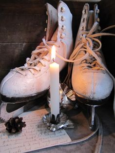 ✰try to remember the skates tucked away in the hall closet....