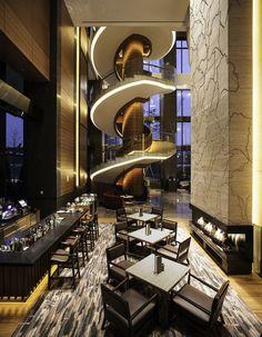 Seoul Conrad Hotel - Designed by Simon Tong for LRF Designers