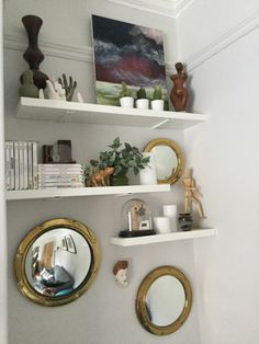 Display Floating Shelves, Display, Home Decor, Floor Space, Homemade Home Decor, Billboard, Wall Storage Shelves, Interior Design, Wall Shelves