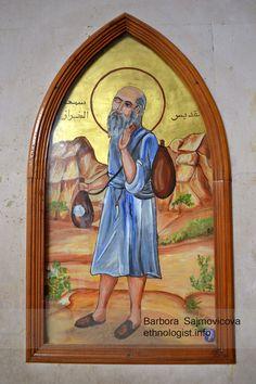 Traditional figuration of Saint Simon, Church of Saint Simon.Photo: Barbora Sajmovicova, 2011, Nikon D3100.