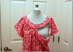 DIY Hospital Nursing Gown