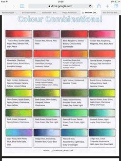 Prismacolor Combos from colorwithclaire Prismacolor, Copics, Blending Colored Pencils, Color Blending, Color Mixing, Colored Pencil Tutorial, Colored Pencil Techniques, Shading Techniques, Colouring Techniques