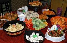 Yummy Halloween spread