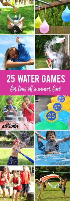 25 awesome water gam