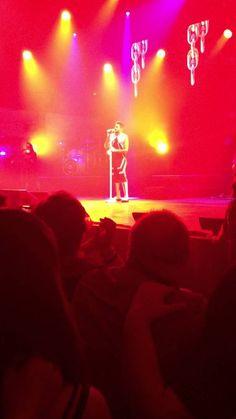 Adam Lambert Auckland TOH Tour 2016- Runnin, Choke Hold & Sleepwalker