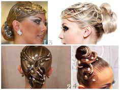Beautiful Hair Styles for the floor! #ballroom #latindance #dance #hair #style