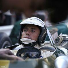 Jim Clark, Team Lotus, Lotus 49 - Ford-Cosworth DFV 3.0 V8. GP Spa-Francorchamps 1967.