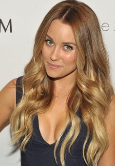 Lauren Conrad Ombre Hair - Ombre Hair Lookbook - StyleBistro