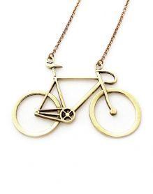 Bicycle Necklace for Carlos lol Cute Jewelry, Jewelry Box, Jewelery, Jewelry Accessories, Fashion Accessories, Golden Bike, Love Symbols, Pendant Necklace, Bike Stuff