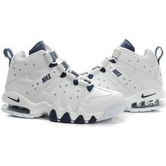 www.asneakers4u.com Charles Barkley Shoes Nike Air Max2 CB 94 White Dark 0f5822c4d